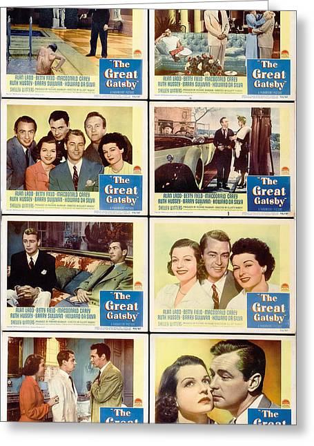 The Great Gatsby Movie Stills Greeting Card