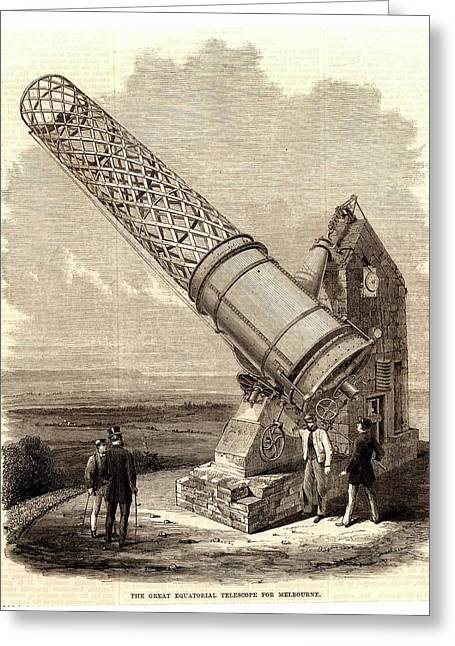 The Great Melbourne Telescope Greeting Card