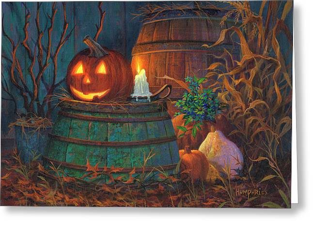 The Great Pumpkin Greeting Card by Michael Humphries