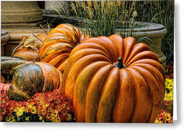 The Great Pumpkin Greeting Card by Tammy Espino