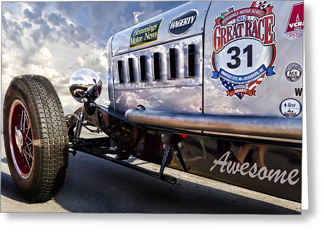 The Great Race 2012 Greeting Card by Peter Chilelli