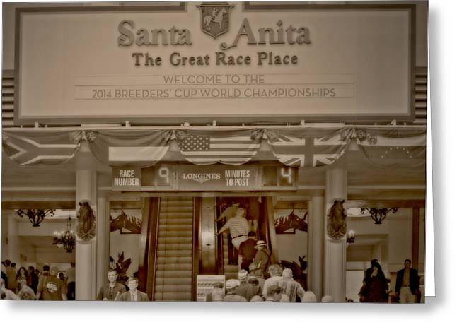 The Great Race Place Greeting Card by See My  Photos