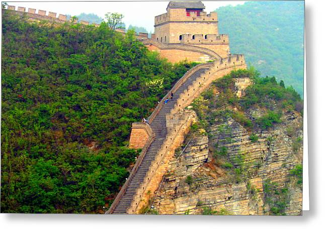 The Great Wall 2 Greeting Card by Kay Gilley