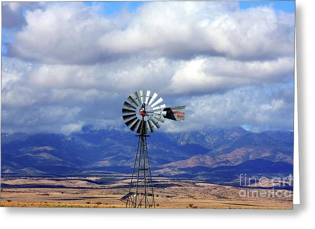 The Great Western Windmill Greeting Card