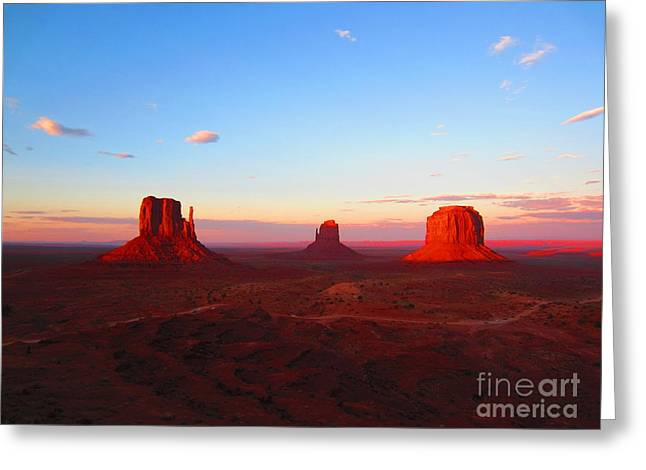 The Greatest View Greeting Card by C Lythgo