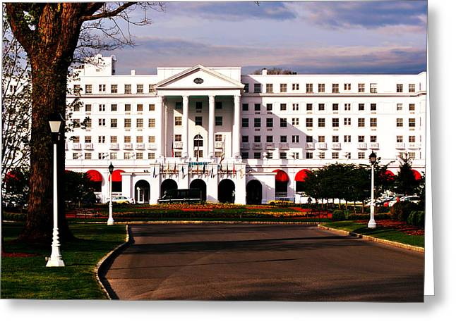 The Greenbrier Resort Greeting Card