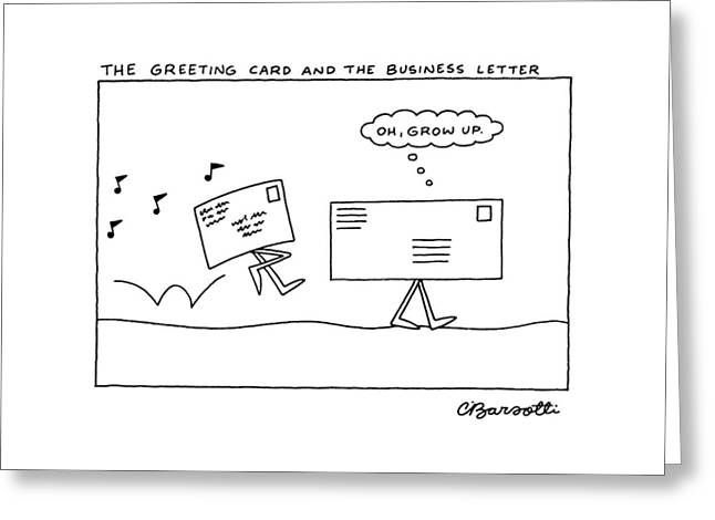 The Greeting Card And The Business Letter Greeting Card