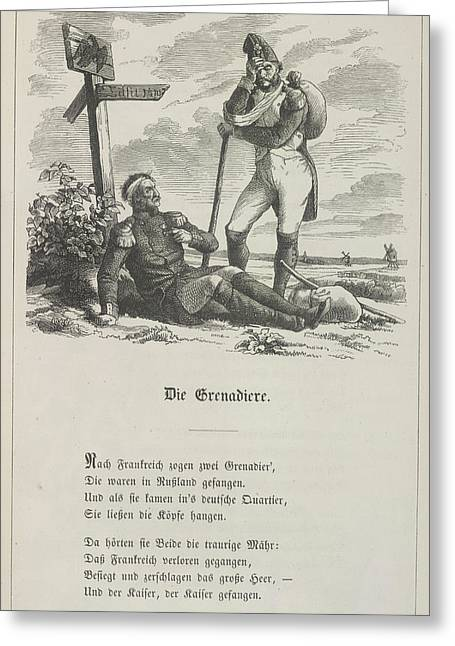 The Grenadier Greeting Card by British Library