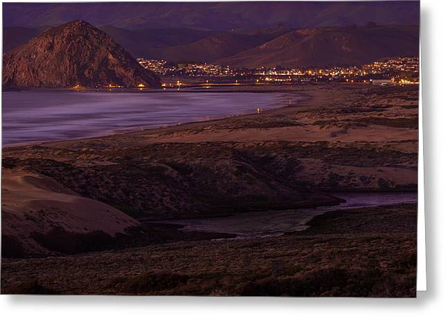 The Guardian--- Morro Bay Greeting Card