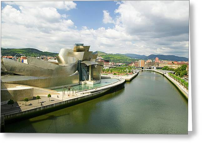 The Guggenheim Museum Of Contemporary Greeting Card