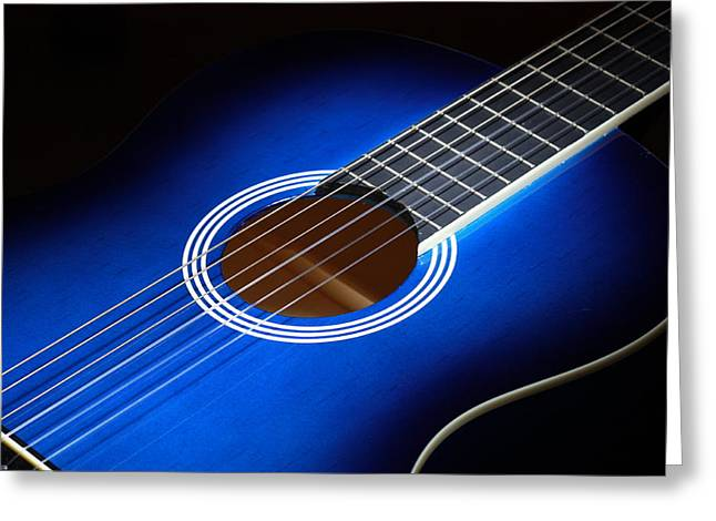 Greeting Card featuring the photograph The Guitar by Keith Hawley