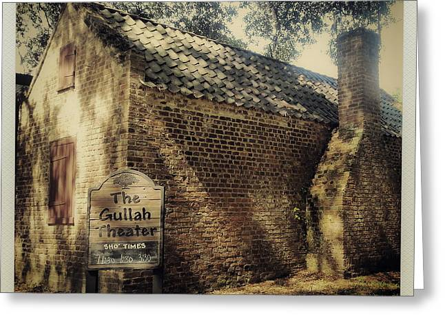 The Gullah Theater At Boone Hall Greeting Card