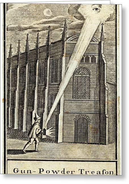 The Gunpowder Plot -- An Allegorical Greeting Card