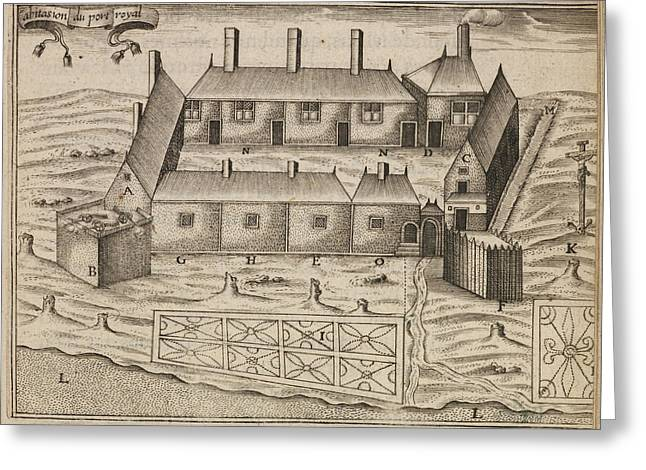 The Habitation At Port-royal Greeting Card
