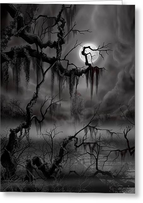 The Hanged Man II Greeting Card by James Christopher Hill