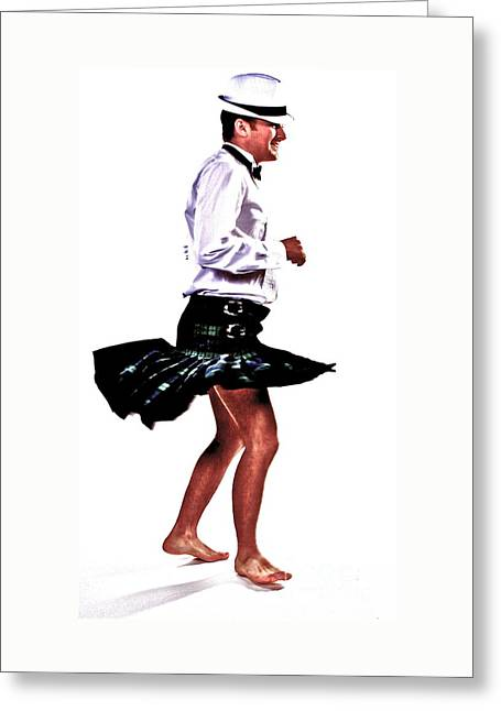 The Happy Dance Greeting Card by Xn Tyler