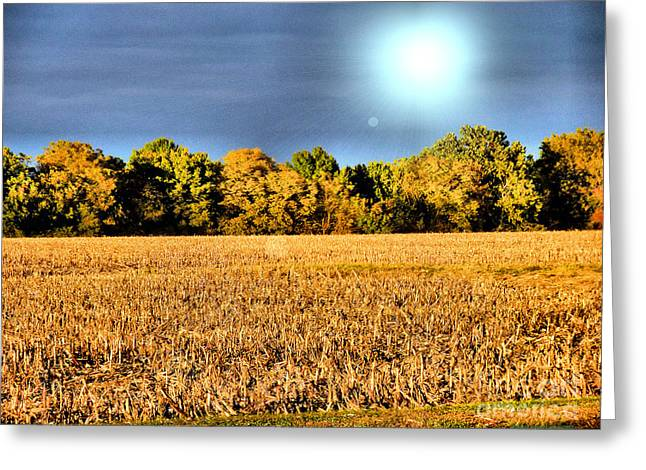 The Harvest Is In Greeting Card by Luther Fine Art