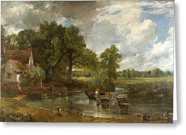 The Hay Wain Greeting Card