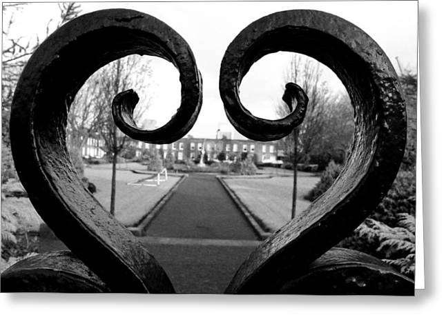 The Heart Of Dublin Greeting Card