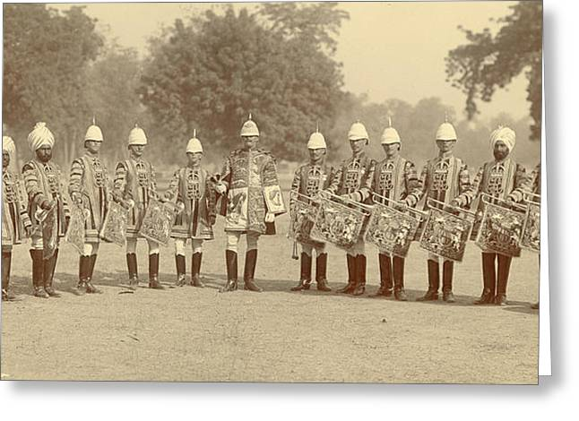 The Heralds And Trumpeters Greeting Card