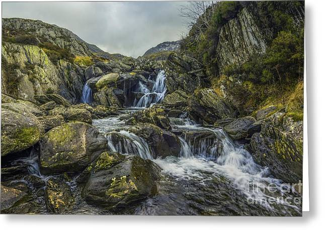 The Hidden Waterfall Greeting Card