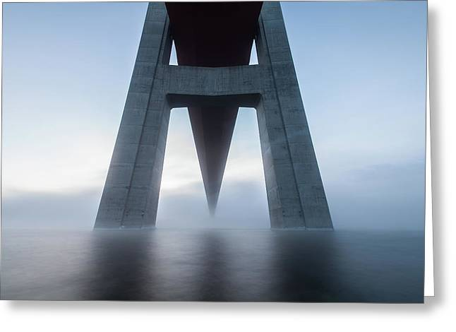 The High Coast Bridge Greeting Card