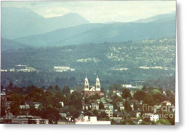 The Hills Are Alive With The Sound Of Music Greeting Card by Michael Hoard