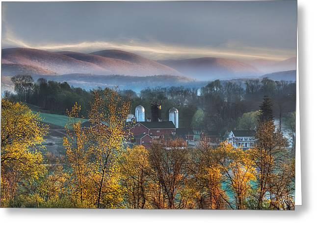 The Hills Greeting Card by Bill Wakeley