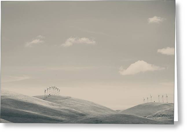 The Hills Greeting Card by Laurie Search