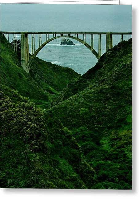 The Historic Pch Greeting Card by Benjamin Yeager