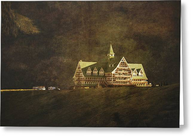 The Historic Prince Of Wales Hotel Greeting Card by Roberta Murray