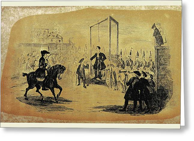 The History Of Jack Sheppard Greeting Card