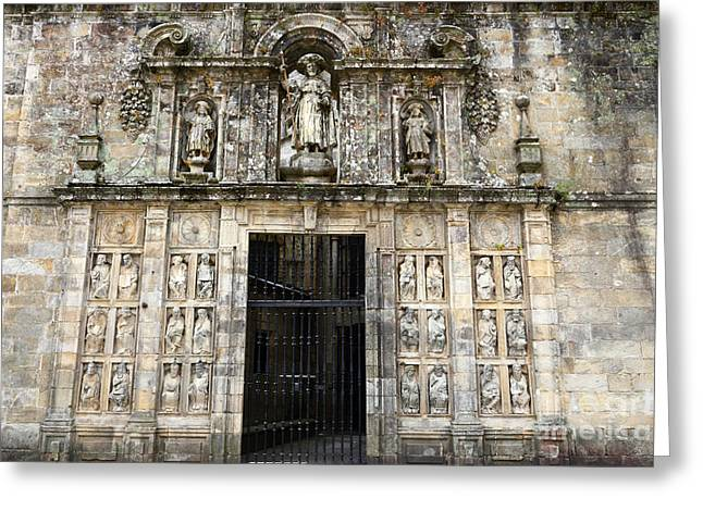 The Holy Door Greeting Card by James Brunker