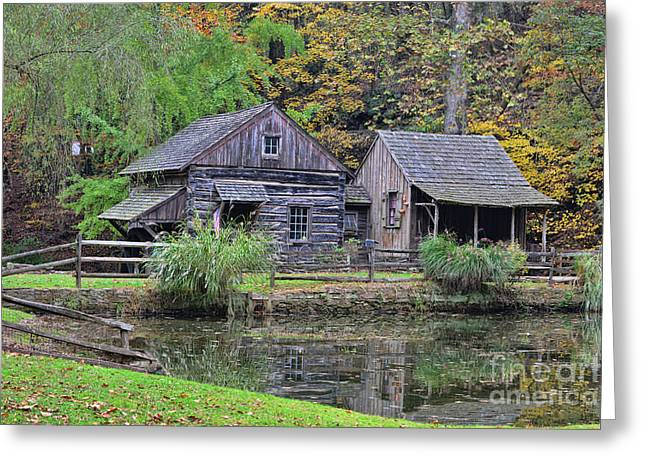 The Homestead Country Living Greeting Card by Paul Ward