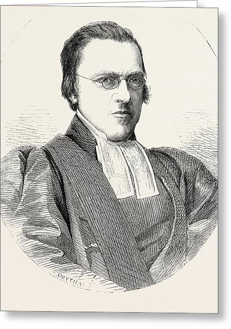 The Hon. And Rev. Samuel Waldegrave Greeting Card