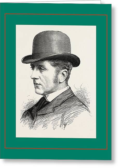 The Hon. W. H. W. Fitzwilliam Greeting Card by English School