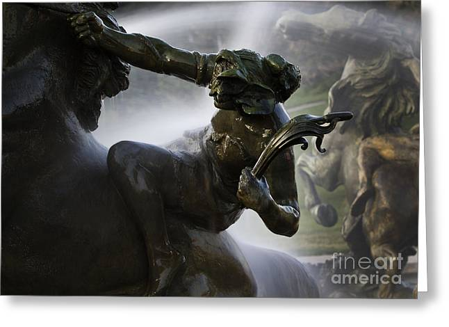 The Horseman Greeting Card by Dennis Hedberg