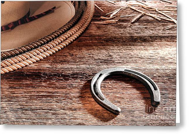 The Horseshoe Greeting Card