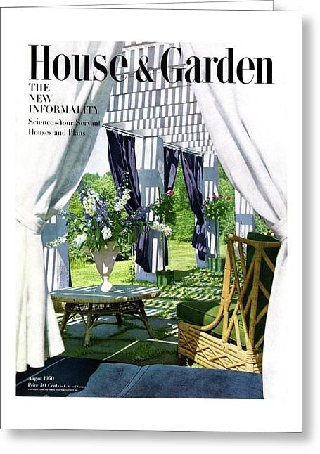 The Horsts Garden Greeting Card