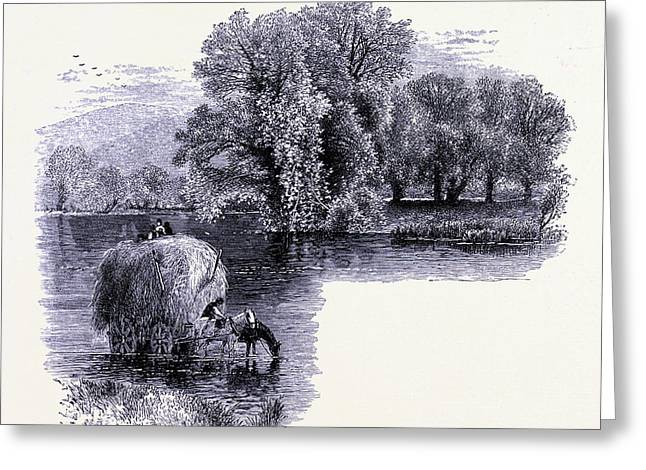 The Housatonic River At Stockbridge United States Of America Greeting Card by American School
