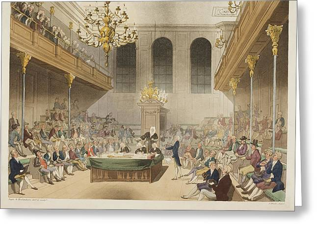 The House Of Commons Greeting Card