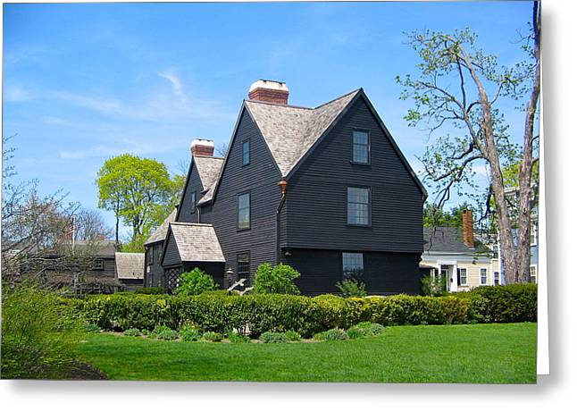 The House Of The Seven Gables Greeting Card