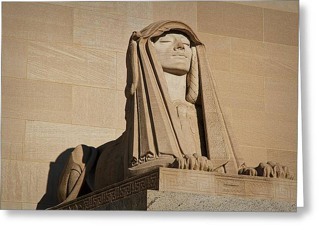 The House Of The Temple Sphinx #2 Greeting Card
