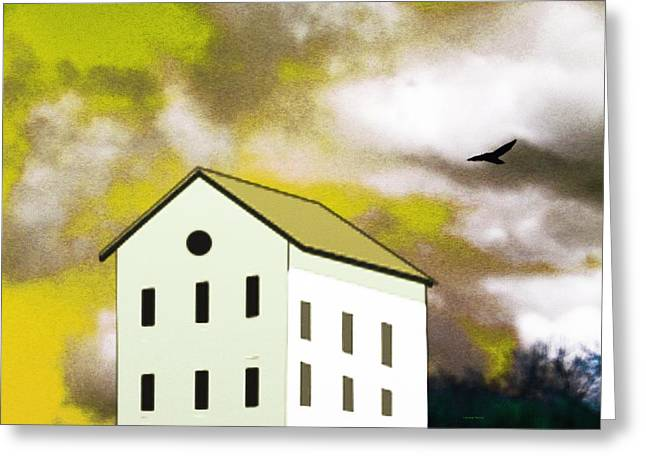 The House That Thor Built Greeting Card by Lenore Senior