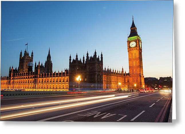The Houses Of Parliament And Big Ben Greeting Card