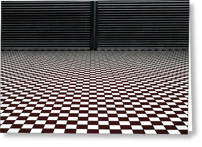 The Hypnotic Floor Greeting Card