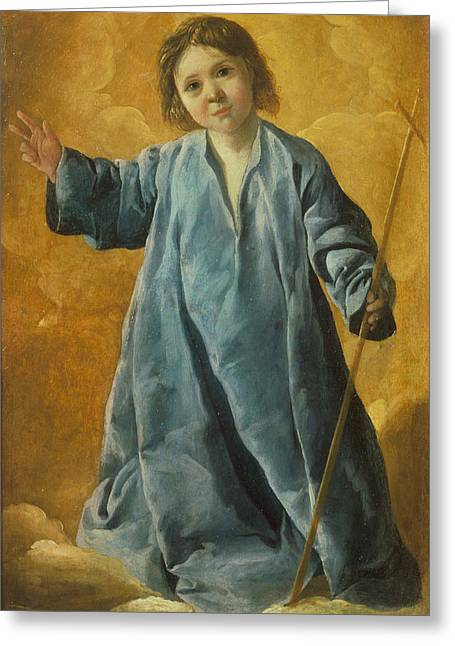 The Infant Christ Greeting Card