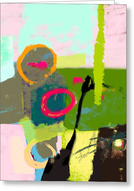The Inner Landscape Greeting Card