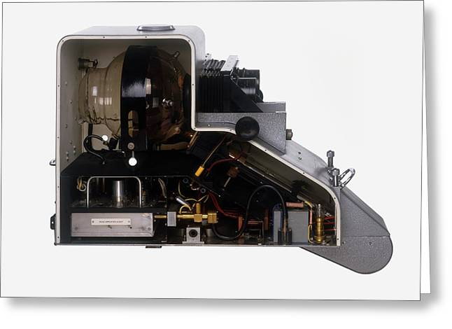 The Inside Of A Television Camera Greeting Card by Dorling Kindersley/uig