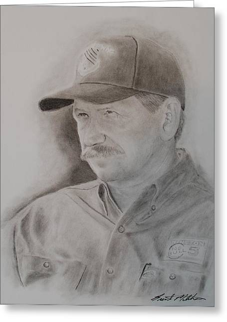 The Intimidator Greeting Card by Brent  Mileham
